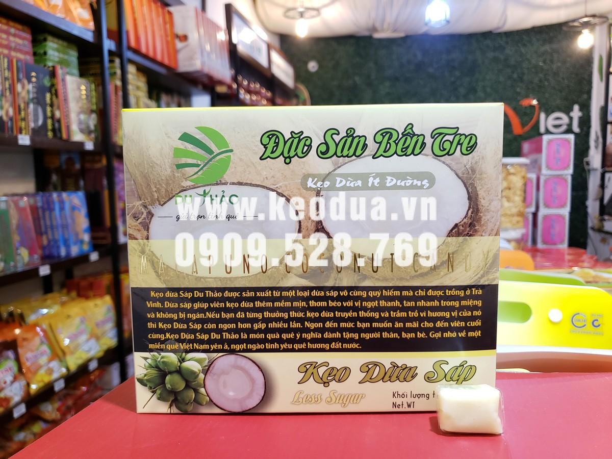 Kẹo dừa sáp cao cấp Du Thảo 200g