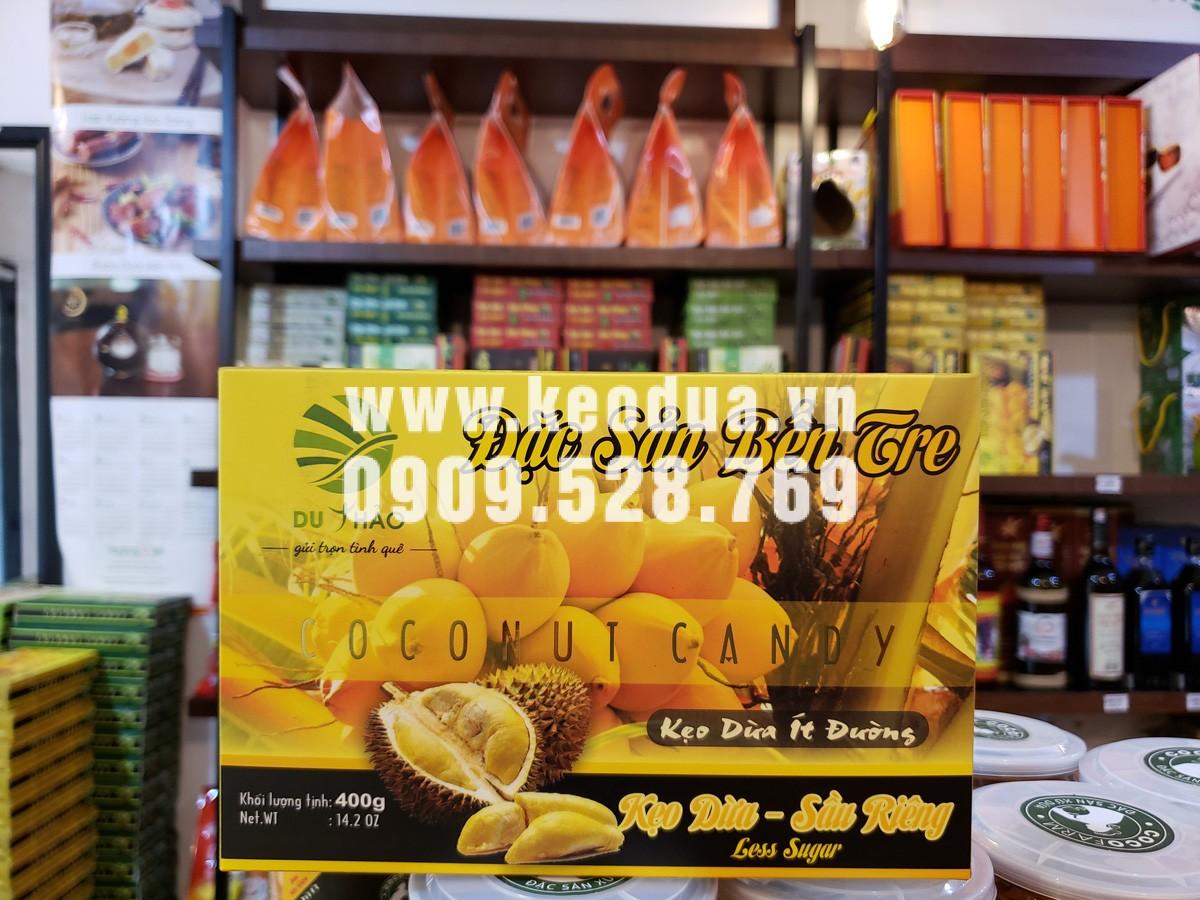 Kẹo dừa sầu riêng cao cấp Du Thảo 400g