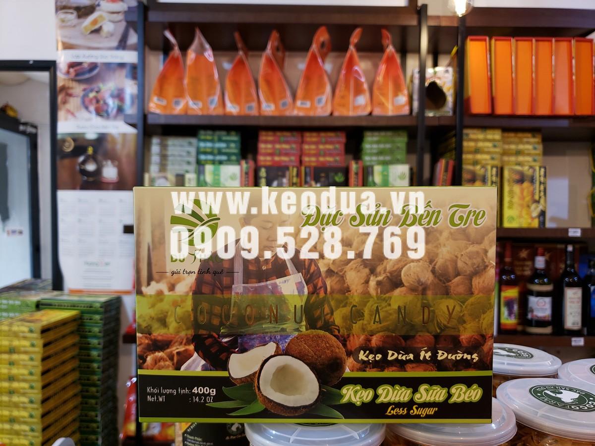Kẹo dừa sữa béo cao cấp Du Thảo 400g